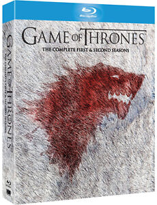 GAME OF THRONES - Complete Season Series 1 & 2 *NEW BLU-RAY