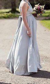 3 x TWOBIRDS BRIDESMAID DRESSES - SILVER