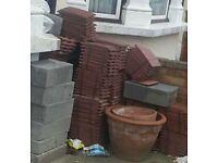 Free roof tiles & breeze blocks