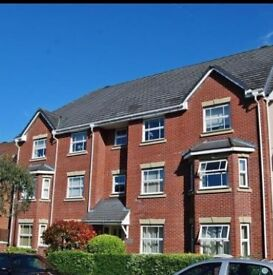 2 bedroom top floor part furnished apartment, Timperley