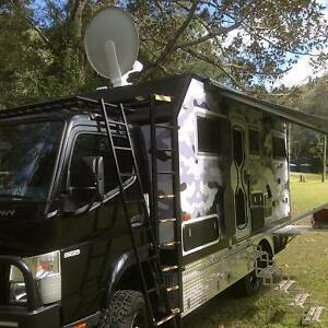 MOTORHOME 4x4 OFF ROAD - Mitsubishi Fuso Canter FGB71 2016 - 2017 Wongawallan Gold Coast North Preview