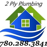 2 Ply The Plumber~Plumbing & Drain Cleaning Service 780.288.3841