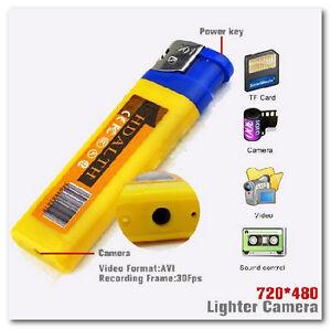 Mini Hidden Lighter DVR For Secret Recording