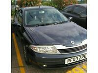 Renault laguna 1.9 dti, swap for van/car with tow bar