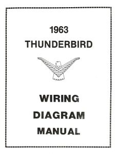FORD-1963-Thunderbird-Wiring-Diagram-Manual-63