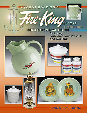 FIRE-KING GLASS $$$ ID PRICE GUIDE COLLECTOR'S BOOK Anchor Hocking on Rummage