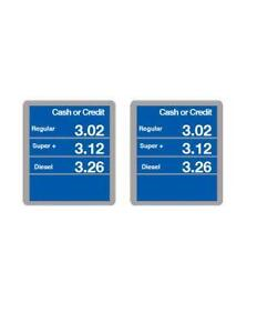Gas Price Sign | eBay