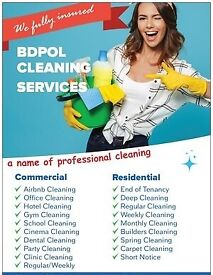 Guranteed & Low Cost End of Tenancy Cleaning - Short Notice - Professional Domestic Cleaning Team