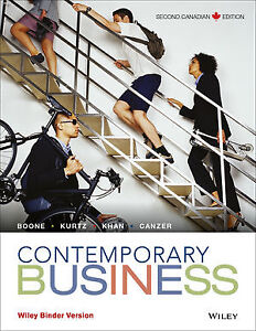 Contemporary Business 2nd Canadian Edition - Binder Version