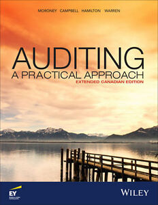Auditing a Practical Approach - Extended Canadian Edition