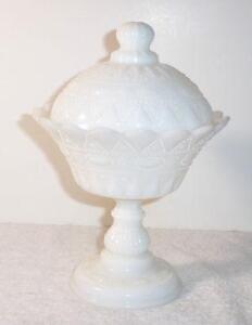 Milk Glass Candy Dish Ebay