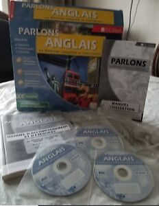 CD-ROM, TLC-Edusoft parlons anglais cours interactif complet