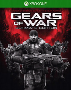 XBOX ONE GEARS OF WAR ULTIMATE & 1-4 (5 games total)