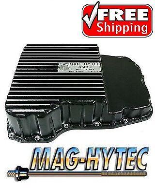 Mag Hytec Transmission Pan 02-Up Dodge & Jeep Truck SUV w/ 45RFE 545RFE Tranny