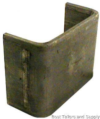 20 2 x 4 stake pockets steel weld on truck or trailer