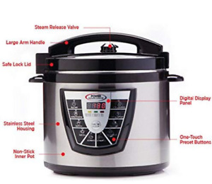 Electric Pressure Cooker (Power Pressure Cooker XL)