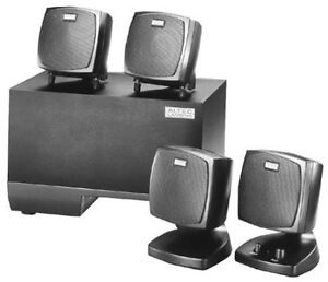 Altec Lansing Suround sound system with speakers