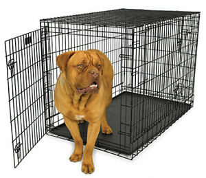 XL Steel Dog Crate Kennel - New