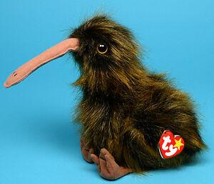 Beak the Kiwi Bird Ty Beanie Buddy stuffed animal