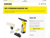 Karcher WV Premium Electric Window Vac