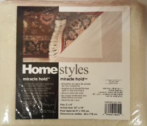 Homestyles Miracle Hold Rug Pad 2 X 6