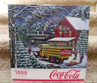 Coca-Cola Jigsaw Puzzle, 1500 pieces, Like New, Complete Set