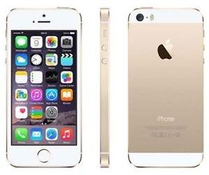 LIKE NEW -64GB IPHONE 5S White Gold WITH UNLOCKED+ACCESSORIES