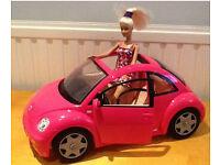 barbie volkswagen car
