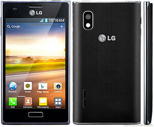 LG OPTIMUS L5 E617 UNLOCKED DÉBLOQUÉ FIDO PUBLIC MOBILE VIRGIN KOODO 3G HSPA 3G GSM TOUCHSCREEN ANDROID CAMERA 5 MP GPS
