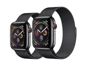 Apple Watch series 4 44mm black stainless steel