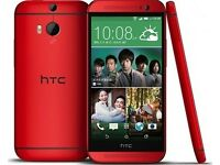 HTC One M8 16Gb Red Unlocked