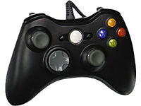 xbox 360 wired controller black for sale (only 1 left)