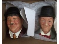 Laurel and Hardy Wall Plaques