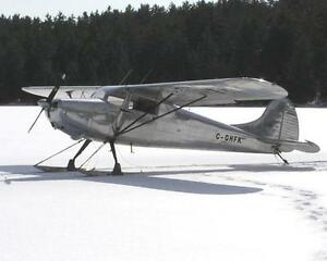 1948 Cessna 170 - Classic upgraded metalized aircraft