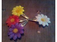 Flower Clips 3 packs for £1 or 5 Packs for £2