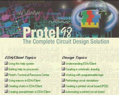 Wanted: Wanted Protel 98 PCB software