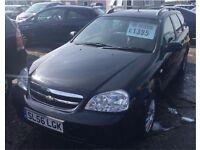 2006/56 Chevrolet Lacetti in Black *** LOW MILEAGE***