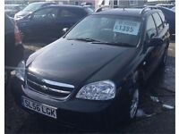 2006/56 Chevrolet Lacetti in Black *** LOW MILEAGE***