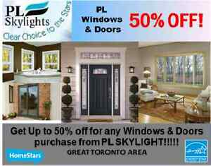 "WINDOWS PROMOTION!  ""50% DISCOUNT"" - 416 503 0188"