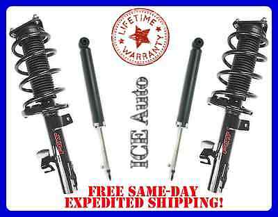 FCS Loaded Front Quick Struts  Rear Shocks for 08 12 Chevy Malibu ALL Engines