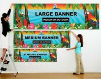 LARGE FORMAT PRINTS: POSTER, BANNER, & SIGNS!