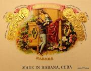 Vintage Cuban Cigar Box