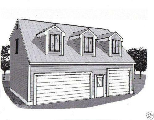 Garage loft plan ebay for 28x36 garage