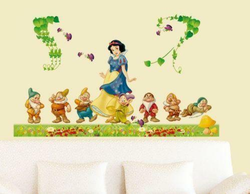disney wall stickers ebay. Black Bedroom Furniture Sets. Home Design Ideas