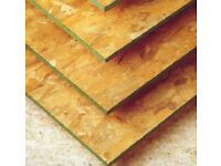 OSB 3 - Sterling board, Sheathing Ply - 2.4m x 1.2m x 9mm only £9 each, 11mm £10 each, 15mm £15 each