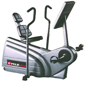Reebok Cycle Plus Recumbent Bike + Moving Arms