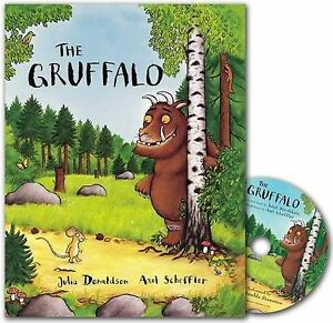 The-Gruffalo-Book-and-CD-Pack-Julia-Donaldson-Perfect-Paperback-Book-NEW-9781