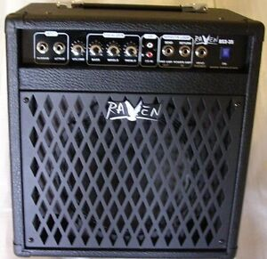 35 WATTS RAVEN BASS AMPLIFIER - AMPLIFICATEUR POUR BASSE