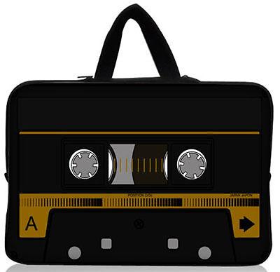BLK Neoprene Zippered Soft Sleeve Case Bag for 33cm Notebook Laptop