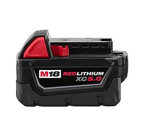 Brand New Milwaukee M18 XC 5.0 Ah Battery and/or Charger